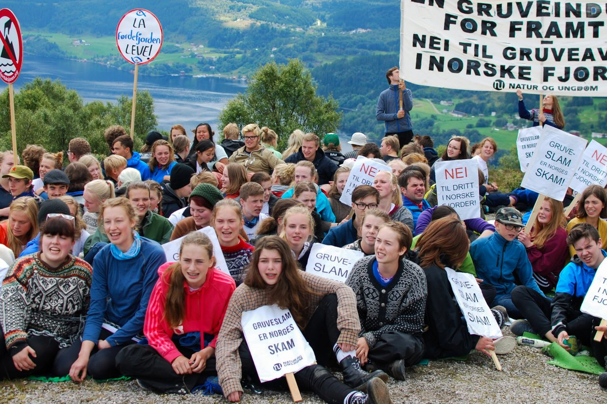Actions-against-mine-projects-in-Norway (c) YFoE Norway
