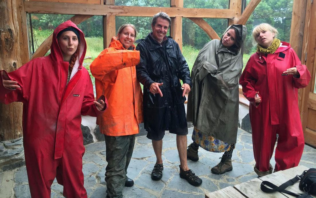 Janny, Josie, Lili, Elena and the nutty professor