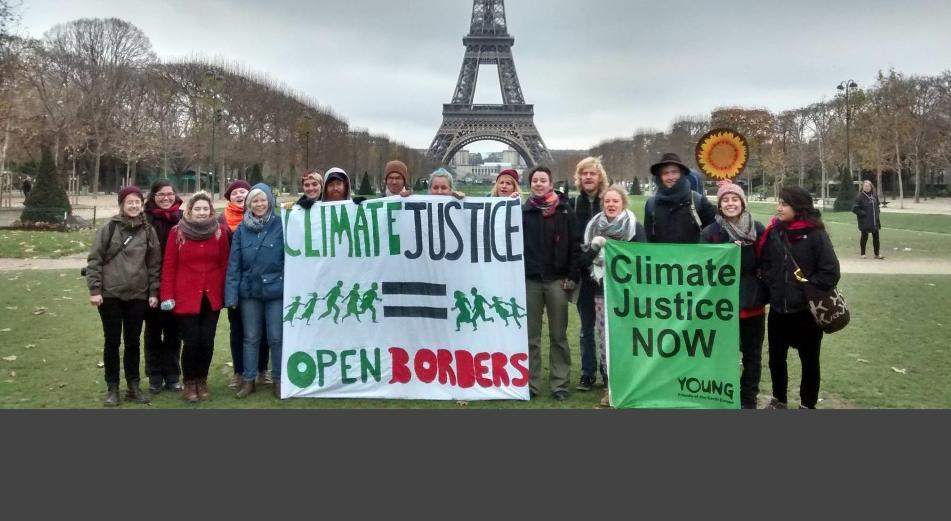 climate justice = open borders