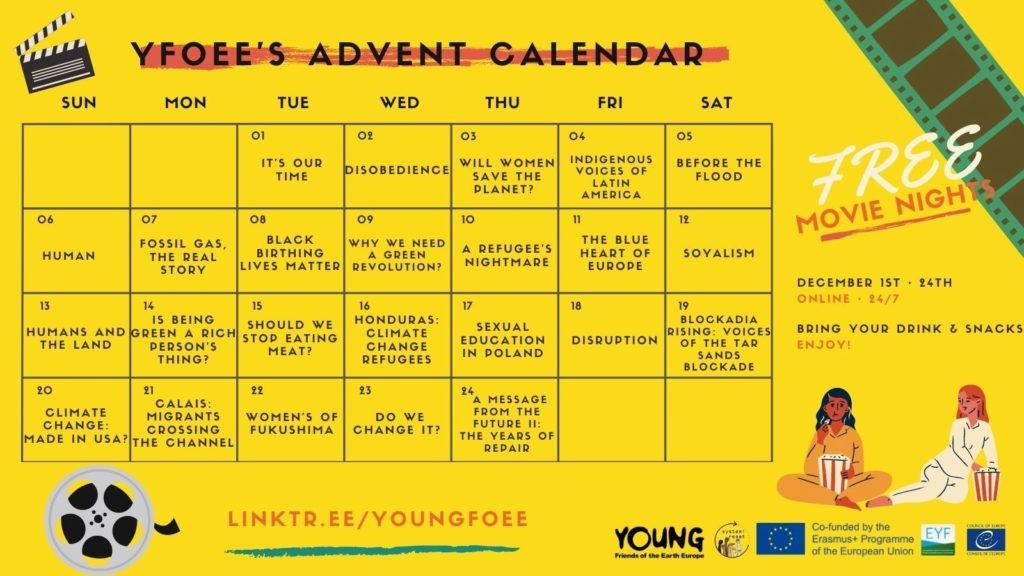 YFoEE advent calendar